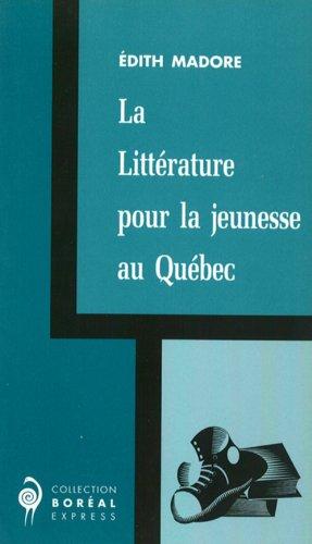 Littérature pour la jeunesse au Québec