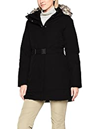 The North Face W Brooklyn Parka 2 Chaqueta, Mujer, Negro (TNF Black), XS