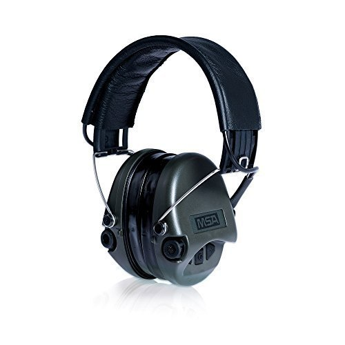 MSA Sordin Supreme Pro - Electronic Earmuff for Hunting & Shooting, incl. comfortable gel-seals by MSA Sordin