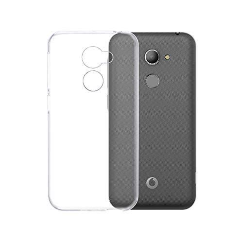 Vodafone Smart N8 Hülle, Transparent TPU Silikon Handyhülle Kratzfest Durchsichtige Schutzhülle Flex Case für Vodafone Smart N8 [Crystal Clear]