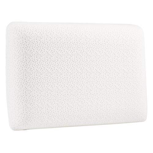 AmazonBasics - Almohada de espuma con memoria confortable - 60 x 40 x 12 cm