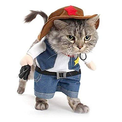 Große Augapfel Kostüm - WXJHA Halloween Haustier Kostüme, Cowboy Party