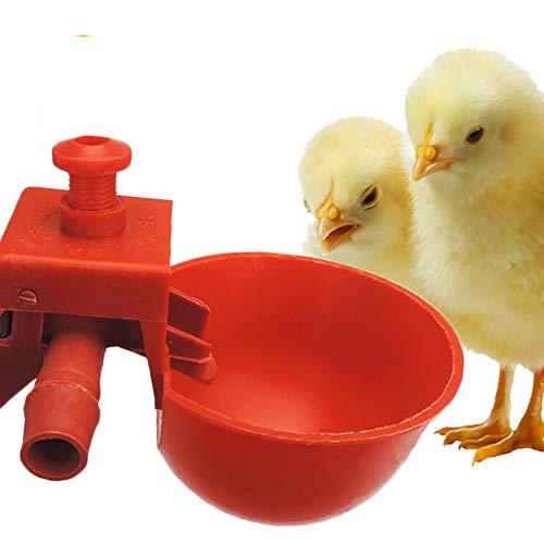 10 Pcs Huhn Waterer Hens Wachtel Vögel Tränken Wasser Für Hühnerstall Küken Nippel Trinker Geflügelfarm Tier Liefert Geflügel Kunststoff Schüsseln Wassertrinker Werkzeug Brunnen Backyards Floc