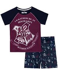 Harry Potter Pijamas de Manga Corta para Niñas Hogwarts