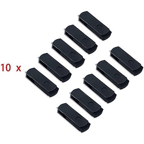 FEBNISCTE 100 pezzi usb 2.0 Penna Nero 512MB (Non 512GB)