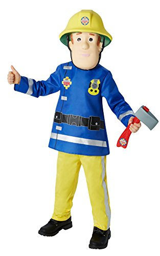 Rubies 3610901 S - Fireman Sam Deluxe Child Kostüm