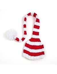Tefamore Sombrero bebé recién nacido linda de cola larga gorras de punto traje de Fotografía Prop