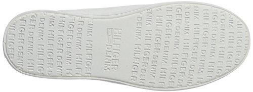 Tommy Hilfiger N1385ice 1d1, Scarpe da Ginnastica Basse Donna Bianco (White 100)