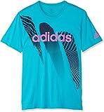 adidas Herren Season Kurzarm-Shirt, Hi-Res Aqua, L