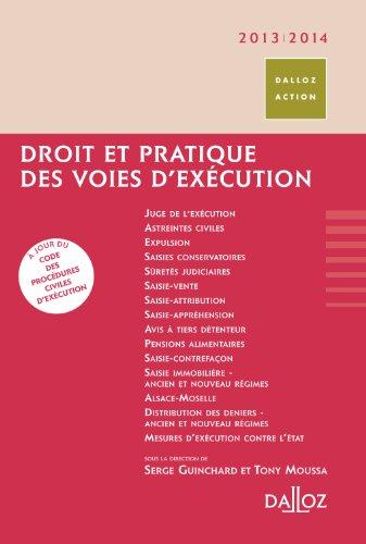 Droit et pratique des voies d'exécution 2013/2014