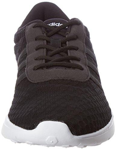 adidas Donna Lite Racer W scarpe sportive Nero (Negbas/Negbas/Ftwbla)