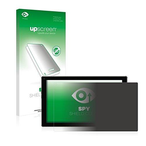 upscreen Spy Shield Clear Blickschutzfolie / Privacy für Blaupunkt Endeavour 101M (Sichtschutz ab 30°, Kratzschutz, selbstklebend)