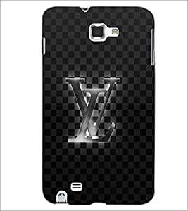 PrintDhaba VL D-5464 Back Case Cover for SAMSUNG GALAXY NOTE 1 (Multi-Coloured)
