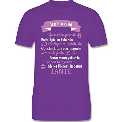 Weihnachten & Silvester - Ich bin eine ... Tante! - Herren Premium T-Shirt Lila
