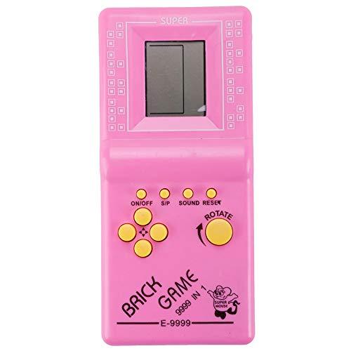 kinbelle Handheld Konsole für Kinder Klassische Tetris Spielen Elektronische Brick Spielzeug,JY-30801A (Tetris-spiel Handheld)