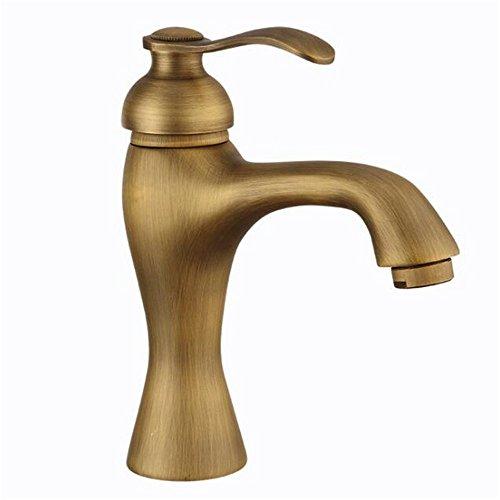 MulFaucet rubinetto miscelatore Faucet Cocedor de lavabo caliente y frío retro cobre...