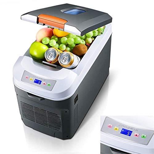 LMDC Autokühlschrank Single Micro Mini Milk Storage Refrigerator, 22 / 35L tragbarer Kleiner Kühlschrank for den Außenbereich, Auto, Zuhause