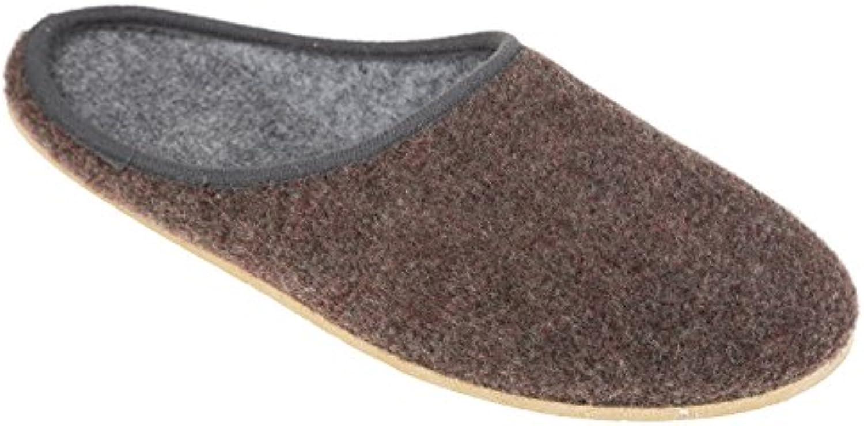 gibra - Zapatillas de estar por casa de tela para hombre 48