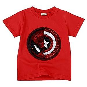 Niño niña Camiseta con Lentejuelas