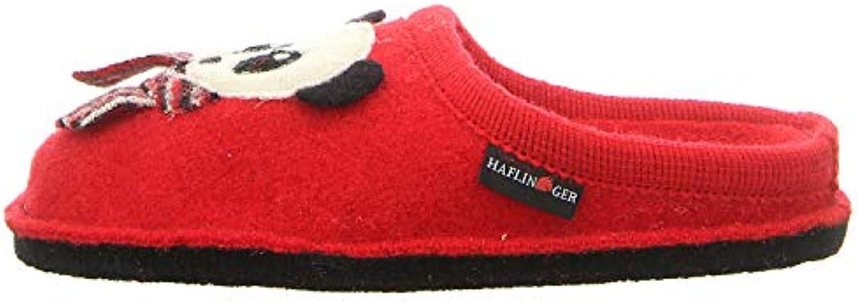 Haflinger - Panda Panda Panda - Pantofola in Lana Cotta con Disegni   Di Qualità Dei Prodotti    Uomo/Donne Scarpa  246467