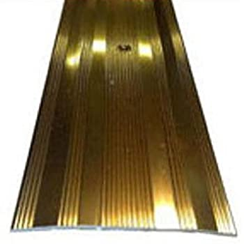 seuil 61 mm large plaque de porte effet laiton longueur 3. Black Bedroom Furniture Sets. Home Design Ideas