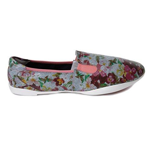 Cocorose Faltbare Schuhe - Carnaby Damen Espadrilles Pink Mosaic Flowers