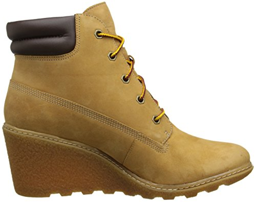 Timberland Amston_Amston_Amston 6in, Bottes Classiques femme Jaune (Wheat)