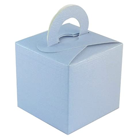 10 Pack of Cute Favour Gift Boxes in Light Blue *REDUCED TO CLEAR*