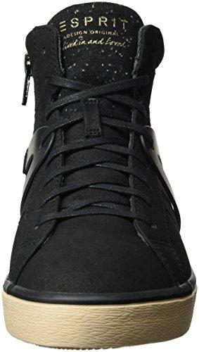 Esprit Sonet, Sneakers Hautes Femme Noir (001 Black)