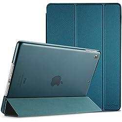 ProCase Étui pour iPad Mini 1 2 3, Smart Cover Case Housse Coque Ultra Mince Léger avec Support Fonction et Veille/Réveil Automatique pour Apple iPad 7.9 Mini Mini2 Mini3 Pouces –Bleu Vert