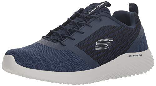 Skechers Bounder, Zapatillas para Hombre, Azul (Navy Nvy), 47.5 EU