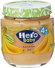 Hero Baby Banana Baby Food Puree, 4 Months+