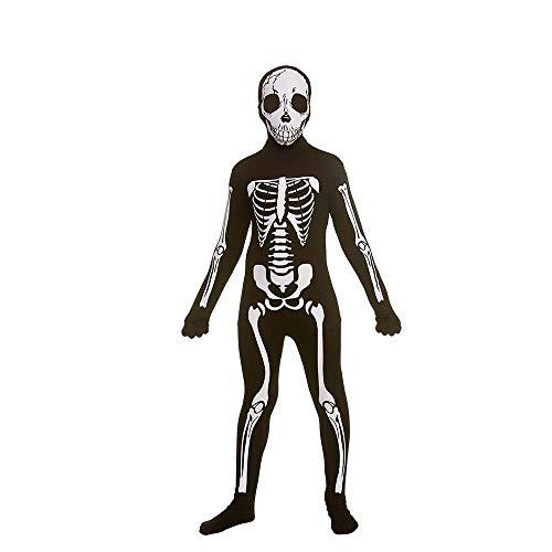 Skeleton Skinz 11-13 for Halloween fancy dress Costume
