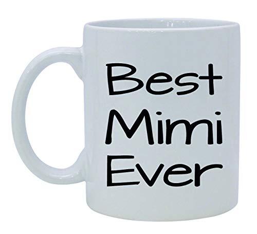 11 Ounces Coffee Mug, Best Mimi Ever Mug Mother'S Day Gift, Personalized Coffee Mug, Printed Mug, Typography Printed Tea Cup, Funny Quote Mug