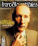 INROCKUPTIBLES (LES) [No 116] du 03/09/1997 - WILLIAM S. BURROUGHS