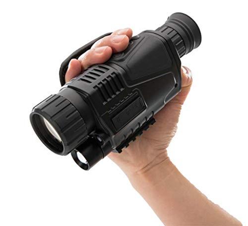 Infrarot Digital 5X40 Nachtsichtfernglas,Nachtfernrohrkamera,Nicht Thermisches Für Die Jagd Tarnung Monokular,Schwarz