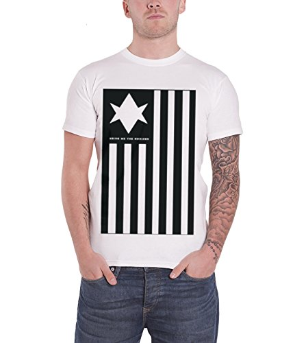 Bring Me The Horizon Antivist T Shirt (White) (Das Outfit Blu-ray)