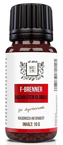 Abnehmen Globuli | radionisch informiert | F-Brenner | Für Stoffwechselkur & Diät (Kein HCG C30) | 100% natürlich | 8 Sin Nutrition