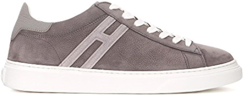 Hogan Sneaker H365 in Nubuk Grau