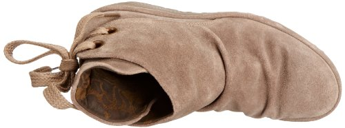 Fly London Yama Suede Damen Stiefel Taupe