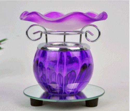 Nuovi Unique-Olio aromatizzato, aroma: incenso-Bruciatore per Tart, colore: Viola