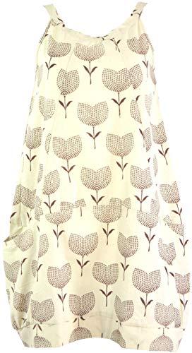 Guru-Shop Minikleid Boho Chic, Tunika mit Mandala Print, Damen, Emerald, Baumwolle, Size:L (40), Kurze Kleider Alternative Bekleidung (Mandala-prints)