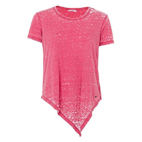 Tiffosi Damen T-Shirt, Gebatikt Rosa