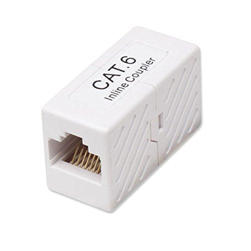 STEREN 310–040–Kabel Splitter oder Kombinierer (RJ-45, Weiß) (Steren Splitter)