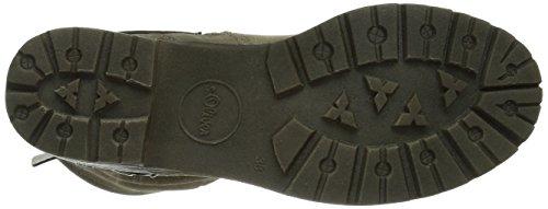s.Oliver 25400 Damen Biker Boots Braun (PEPPER 324)