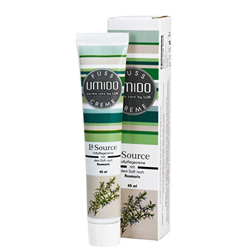 UMIDO Fußcreme 45 ml Rosmarin - Fuß-Balsam - Fuß-Lotion - Pflege-Creme – Fußpflege-Creme - 1 x 45 ml (2.)
