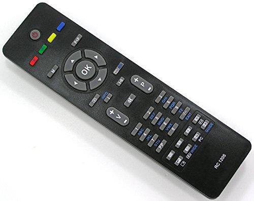 Ersatz Fernbedienung für RC1205 RC1205B / Medion / Luxor / Telefunken / Vestel / Kendo / Techwood / ALBA / Finlux / LCD LED TV Fernseher Remote Control / Neu