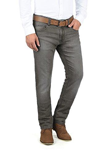 Indicode Quebec Herren Jeans Hose Denim Aus Stretch-Material Regular Fit, Größe:W31/32, Farbe:Dark Grey (910)