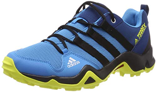 new product 30c2c 8a937 adidas Unisex-Kinder Terrex AX2R K Walkingschuhe Blau CyanCore BlackShock  Yellow