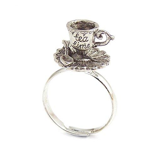 LunarraStar Damen Alice im Wunderland Teetasse Tea Time -